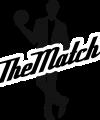 Logo The Match Preta